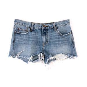 Levi's Women's Cut Off Hi Rise Jean Shorts 8